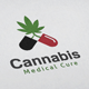 Cannabis V2 Logo - GraphicRiver Item for Sale
