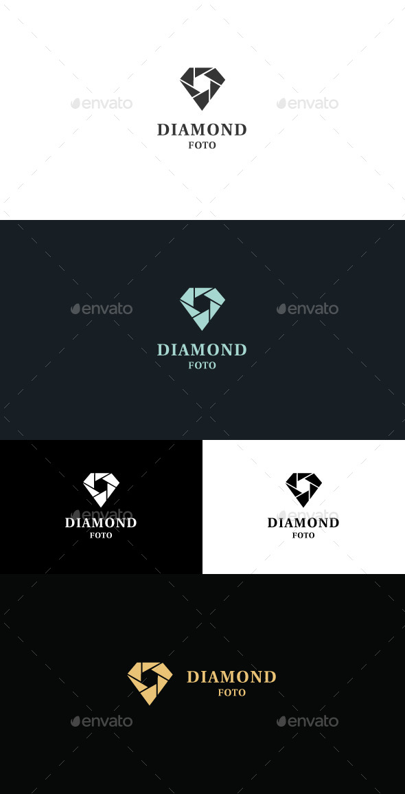 GraphicRiver Diamond Foto Logo 11512816