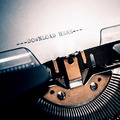 old typewriter with text download here - PhotoDune Item for Sale