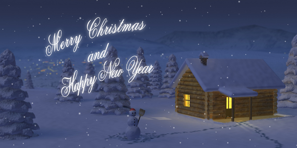 After Effects Project - VideoHive Christmas Night 139373