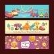 Amusement Park Banners - GraphicRiver Item for Sale