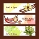 Herbs and Spices Banners - GraphicRiver Item for Sale