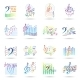 Music Notes Icons Set - GraphicRiver Item for Sale
