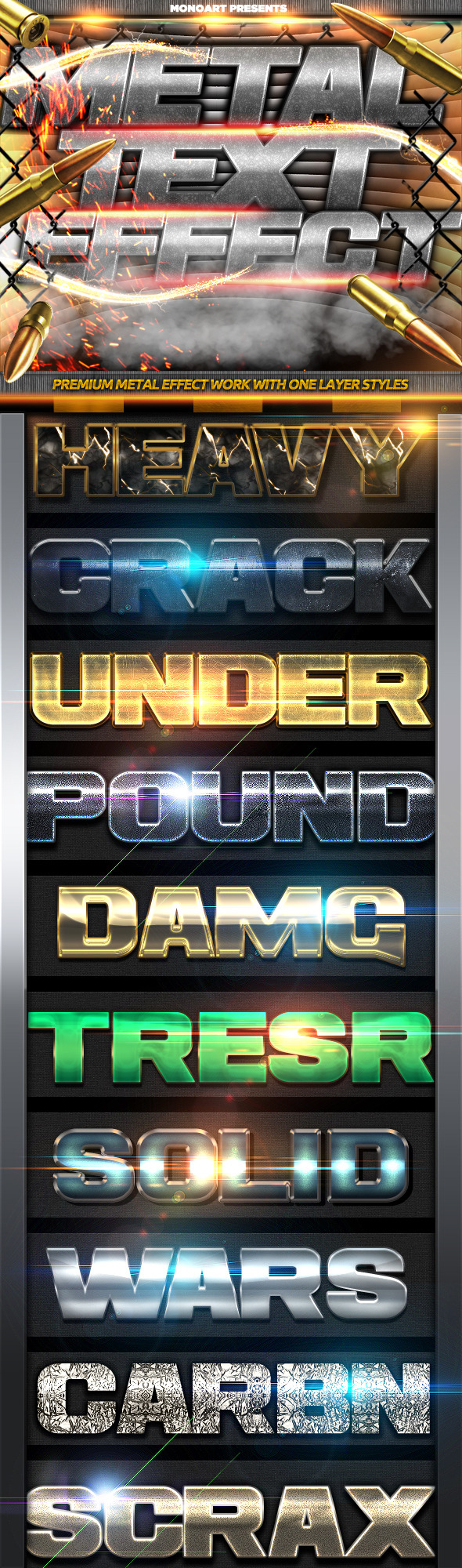 GraphicRiver Metal Text Effect 2 11514137