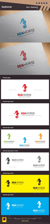 GraphicRiver Seahorse Logo Template 11514145