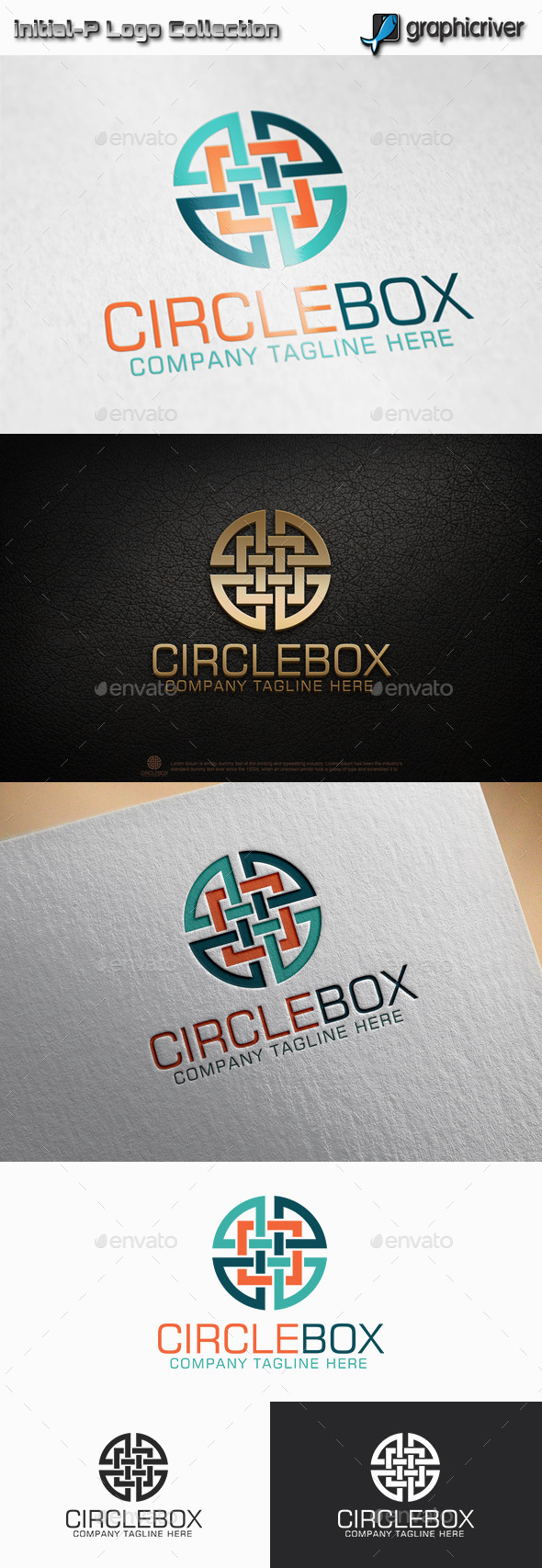 GraphicRiver Circle Box Logo 11514646