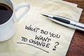 What do you want to change? - PhotoDune Item for Sale