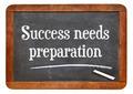 Success needs preparation on blackboard - PhotoDune Item for Sale