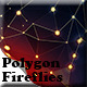15 Polygon Fireflies Backgrounds - GraphicRiver Item for Sale