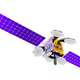 3D model of an artificial satellite of the Earth - PhotoDune Item for Sale