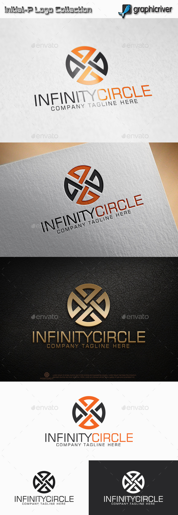 GraphicRiver Infinity Circle Logo 11514735