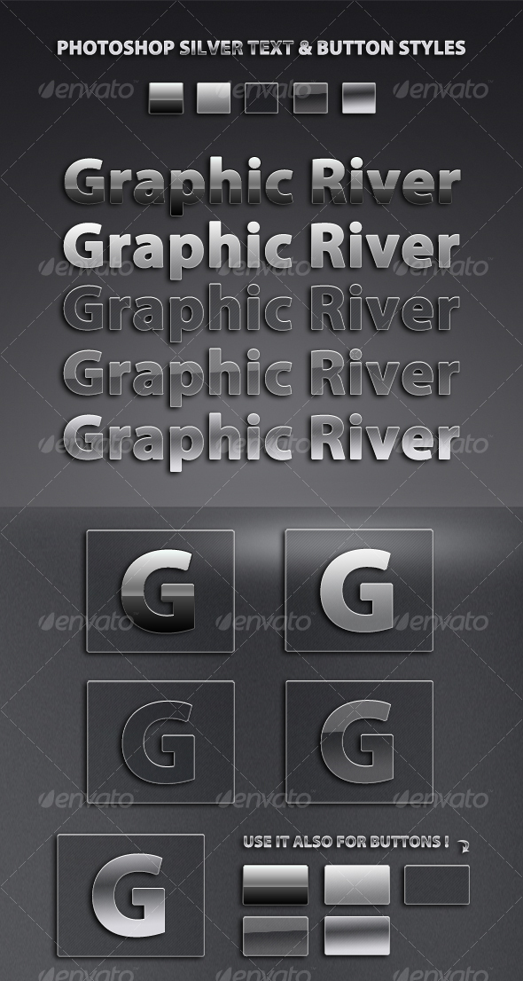 GraphicRiver Professional Silver Style Pack #1 46872