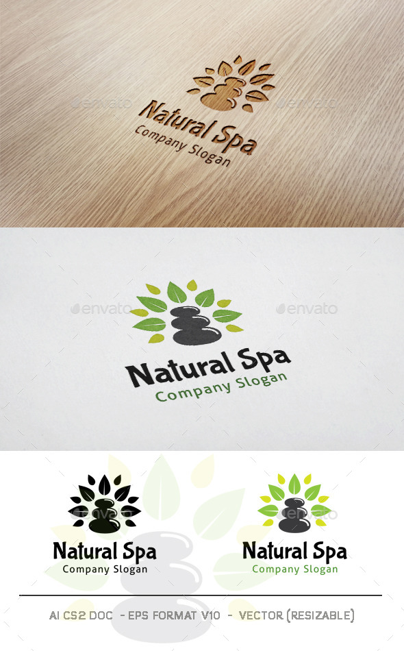 GraphicRiver Natural Spa Logo 11515240