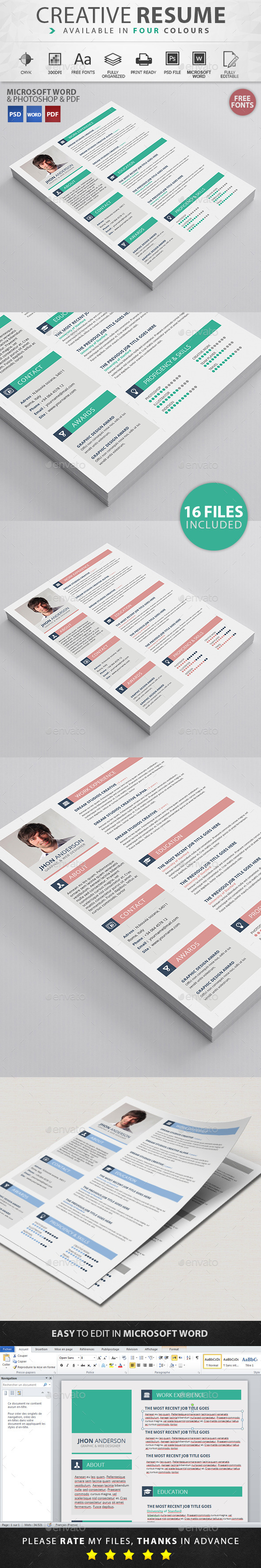 GraphicRiver Resume 11515457