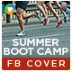Summer Boot Camp Facebook Cover - GraphicRiver Item for Sale