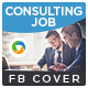 Consulting Facebook Cover - GraphicRiver Item for Sale