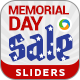 Memorial Day Sale Slider - GraphicRiver Item for Sale