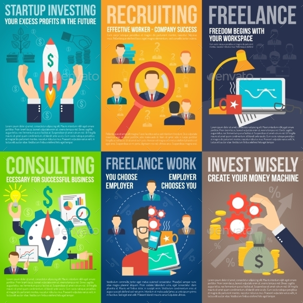 GraphicRiver Business Poster Set 11515747