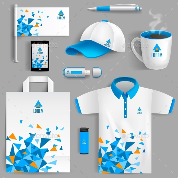 GraphicRiver Corporate Identity Blue 11515753