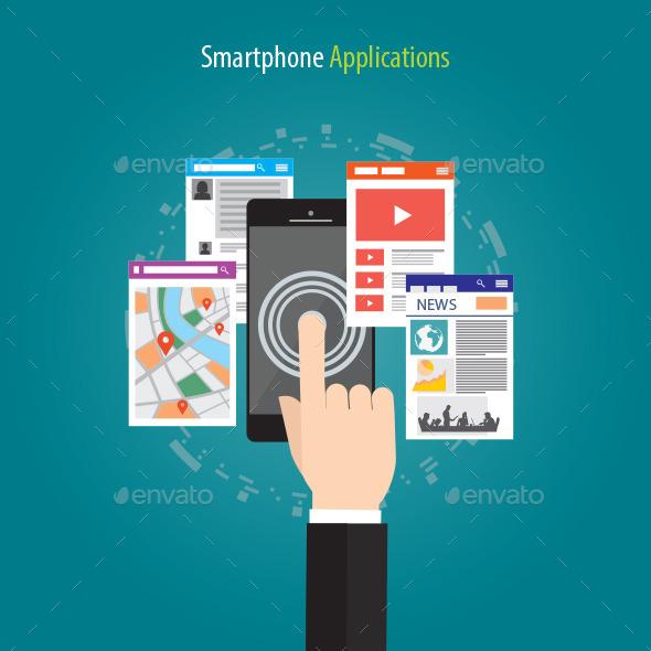 GraphicRiver Smartphone Applications 11515791