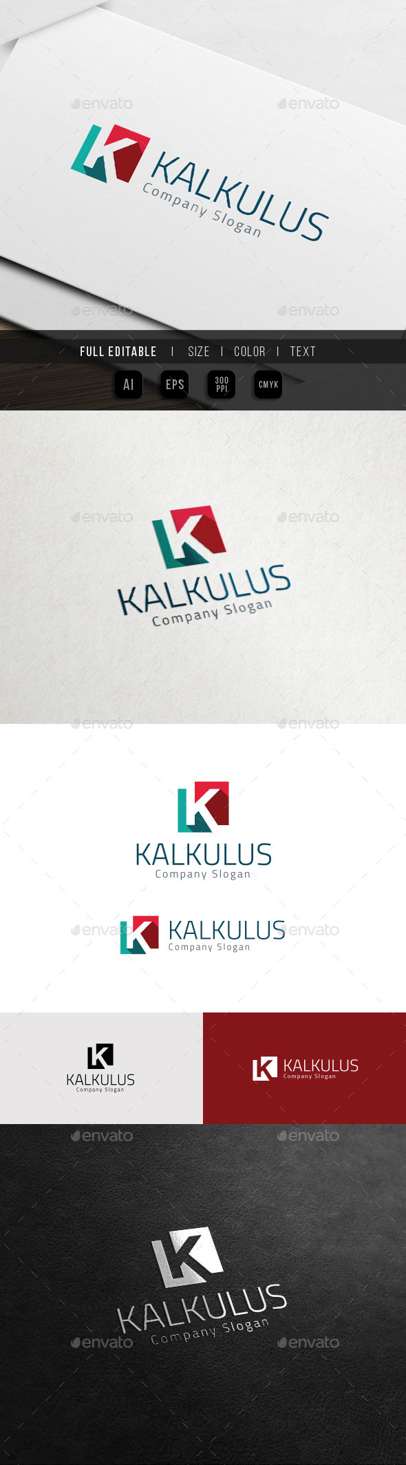GraphicRiver Corporate Brand Marketing Finance K Logo 11515857