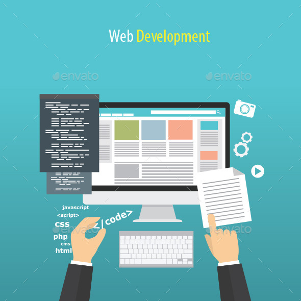 GraphicRiver Web Development 11516214