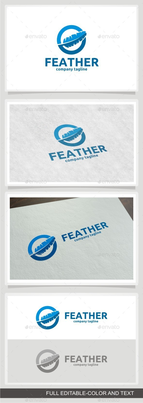 GraphicRiver Feather Logo 11516284