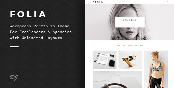 ThemeForest Folia Agency & Freelance Portfolio WP Theme 11518304