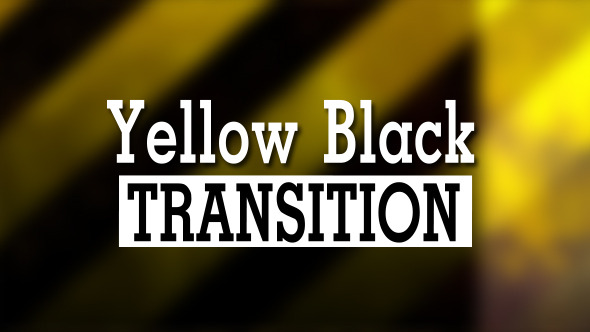 Yellow Black Transition