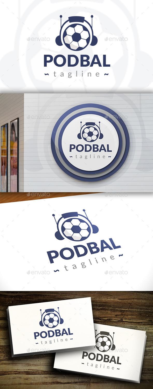 GraphicRiver Football Podcast Logo 11521283