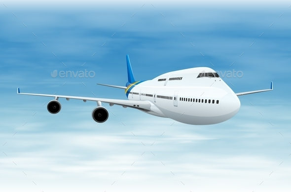 GraphicRiver Commerical Aircraft 11521860