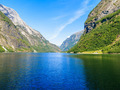 Tourism and travel. Mountains and fjord in Norway. - PhotoDune Item for Sale
