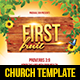 First Fruit Church Flyer - GraphicRiver Item for Sale