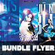 Bundle Flyer Blue Party Vol.1 - GraphicRiver Item for Sale