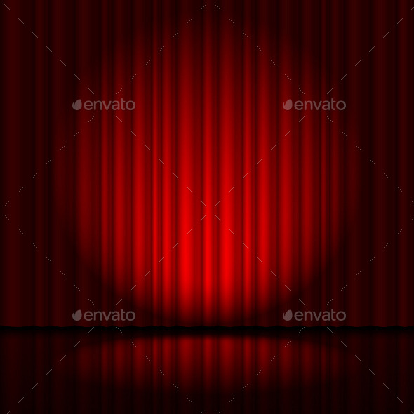 GraphicRiver Curtain from the Theatre 11522772