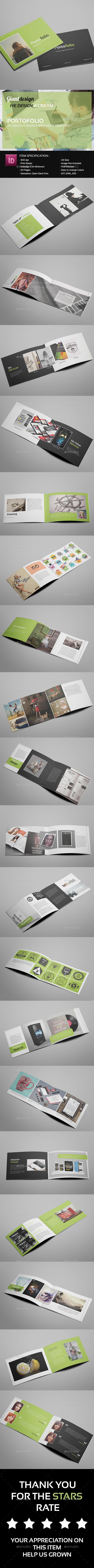 GraphicRiver Portofolio Creative Agency Brochure 11523367