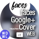 faces // Google+ Cover - Be a Brand - GraphicRiver Item for Sale