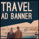 Vintage Travel Web Ad Marketing Banners - GraphicRiver Item for Sale