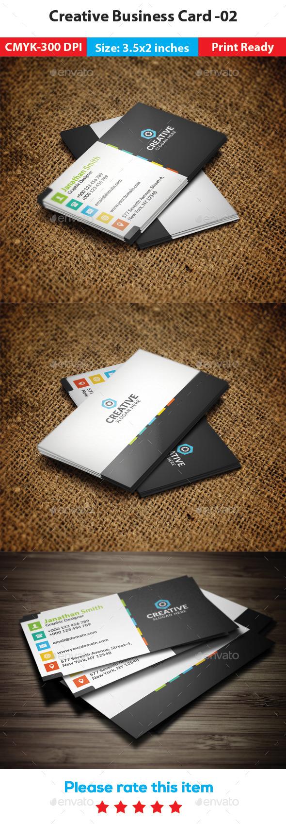 GraphicRiver Creative Business Card 02 11523927