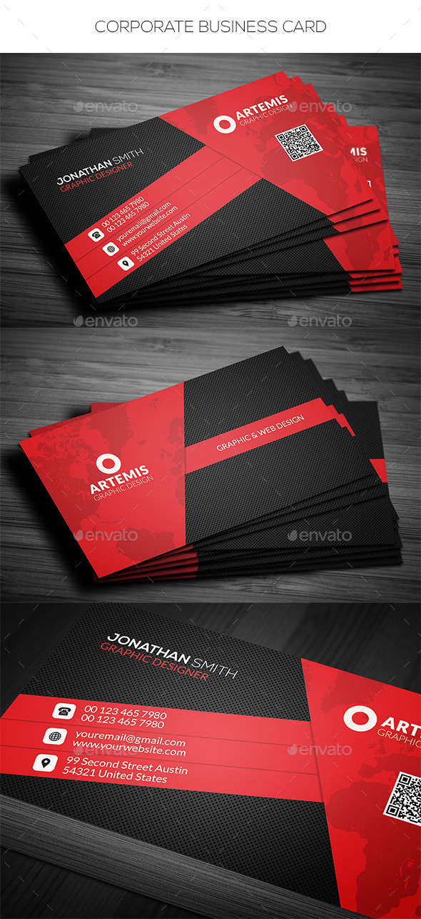 GraphicRiver Corporate Business Card 11524807