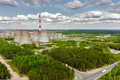 Combined heat and power factory. Tyumen. Russia - PhotoDune Item for Sale