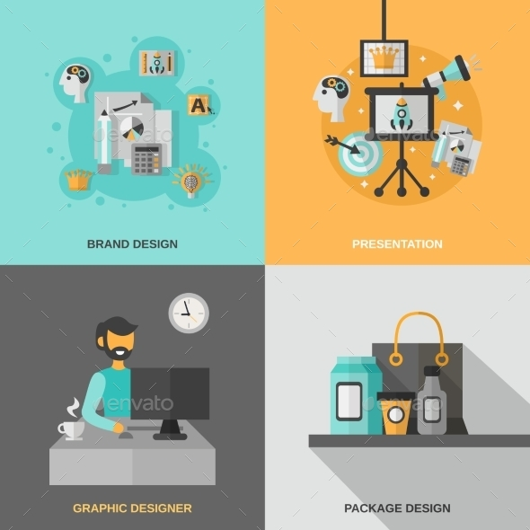 GraphicRiver Branding Icons Set 11524824