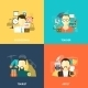 Avatars Flat Set - GraphicRiver Item for Sale