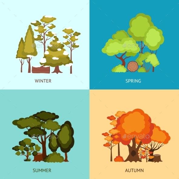 GraphicRiver Forest Design Concept 11524834