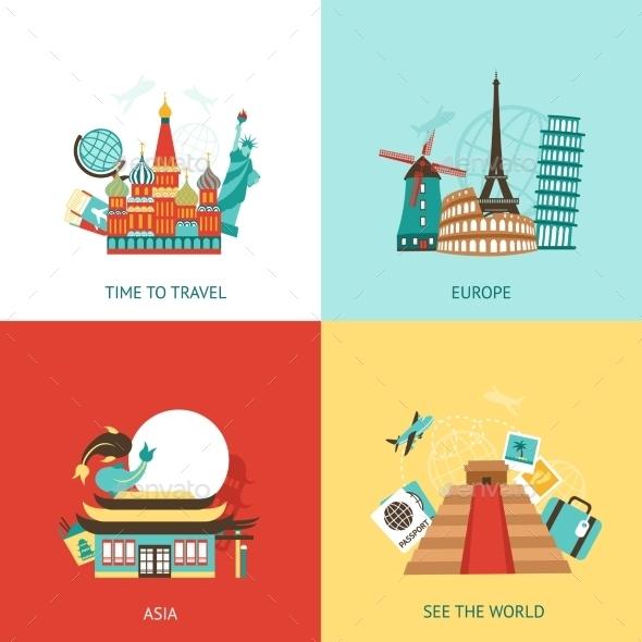 GraphicRiver Travel Design Concept 11524836