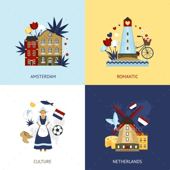 GraphicRiver Netherlands Design Concept 11524838