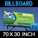 Environment / ECO Billboard Template - GraphicRiver Item for Sale