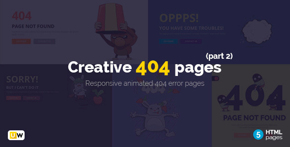 ThemeForest Creative 404 Pages Part 2 11449718