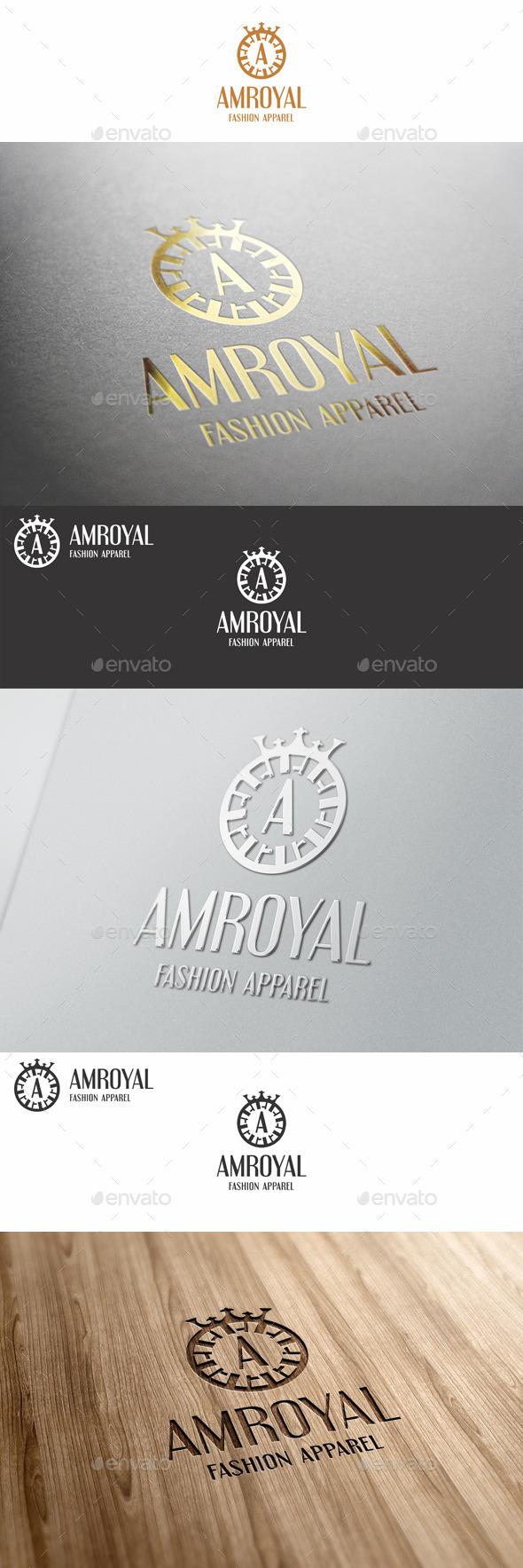 GraphicRiver A Letter Fashion Boutique Logo 11525736