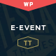 E-event - Conference & Event WordPress Theme - ThemeForest Item for Sale